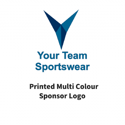 Printed Multi Colour Sponsor Logo
